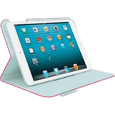 Logitech Protective Folio Case for iPad mini, Pink (939-000878)