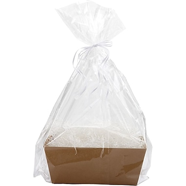 Bottom Gusseted Basket Bags, 28