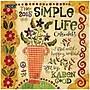 LANG® Simple Life 2015 Mini Wall Calendar