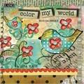 LANG® Color My World 2015 Mini Wall Calendar
