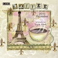 LANG® Coffee 2015 Mini Wall Calendar