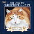 LANG® American Cat 2015 Mini Wall Calendar