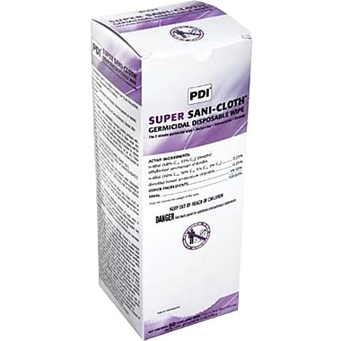 Medline - Pdi NPKU87295Z Super Sani-Cloth Germicidal Wipes 50/Box