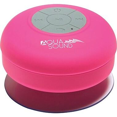 Aduro AQUA-Sound Shower Bluetooth Speaker - Pink