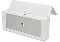 Soundfreaq Sound Kick Portable Bluetooth Speaker with Leather Case, White