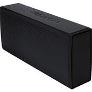 Soundfreaq Sound Kick Portable Bluetooth Speaker with Leather Case, Black