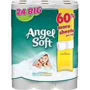 24-Rolls Angel Soft 2-Ply Bath Tissue