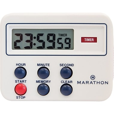 Marathon Timer Clock with Magnetic Clip