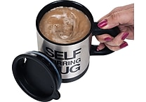 Chef Buddy Self Stirring Coffee Hot Chocolate Mug