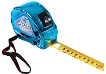 Stalo Contractor SAE and Metric Tape Measure with LED, Blue
