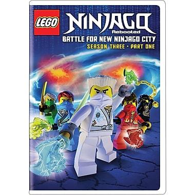 Lego Ninjago Rebooted: Battle for New Ninjago City Season 3 Part 1 (DVD)