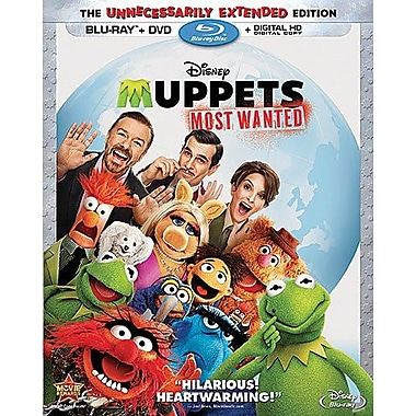Muppets: Most Wanted (Blu-ray/DVD)