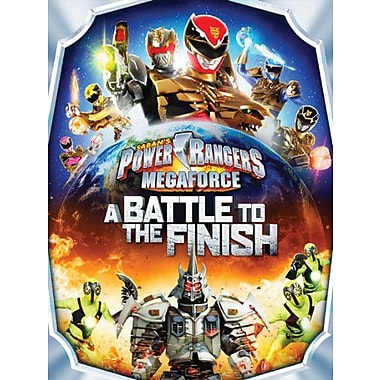 Power Rangers Megaforce Volume 5: A Battle to the Finish (DVD)