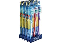 Oral B Shiny Clean Soft Toothbrushes, 12 Pack