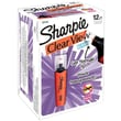 Sharpie Clear View Highlighters, Chisel Tip, Orange, Dozen