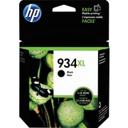 HP 934XL Black Ink Cartridge (C2P23AN#140), High Yield