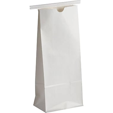 1 lb. Coffee Bag, White