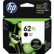 HP 62XL Black Ink Cartridge (C2P05AN#140), High Yield