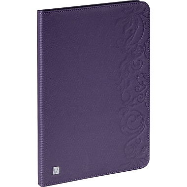 Verbatim Folio Expressions for iPad Air, Floral Purple