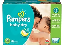 Pampers® Baby Dry, Size 5, 128/Case