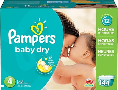 Deals on Staples Coupon: Extra $20 off $75+ Order on Pampers Diapers and Wipes