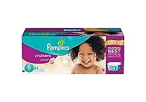 Pampers® Cruisers, Assorted Case Sizes