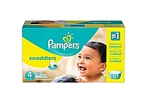 Pampers® Swaddlers Diapers, Size 4, 116/Case
