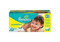 Pampers® Swaddlers Diapers, Assorted Case Sizes