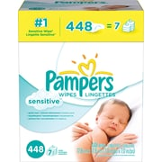 Pampers® Wipes Sensitive Refill 448/case