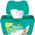 Pampers Wipes  Tubs Natural Clean 72/Tub