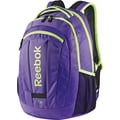 Reebok Big Gulp Laptop Backpack, 17in. Laptop, Purple/ Yellow