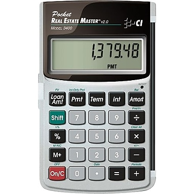 Calculated Industries Pocket Real Estate Master Financial Calculator