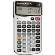 Construction Master Pro Advanced Feet-Inch-Fraction Construction-Math Calculator Master Pro Calculator