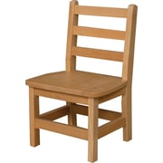 "Wood Designs 11""(H) Hardwood Chair, 2/Pack"