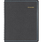 AT-A-GLANCELarge Print Monthly Planner, 6 7/8 x 8 3/4, 2015