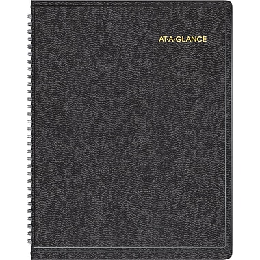 """AT-A-GLANCE® Weekly Appointment Book, 6 7/8"""" x 8 3/4"""", 2015"""