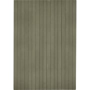 "Anji Mountain Natural Composite Chair Mat, Rectangular, 36"" x 48"", Gray"