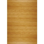 Anji Mountain Deluxe Roll-Up 48''x72'' Bamboo Chair Mat for Hard Floor, Rectangular, Natural (AMB24014W)