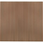 "Anji Mountain Natural Composite Chair Mat, Rectangular, 48"" x 51"", Chestnut"
