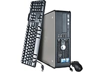 Refurbished Dell OptiPlex 780 SFF, 1TB Hard Drive, 4GB Memory, Intel Core 2 Duo, Win 7 Pro