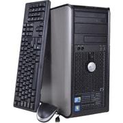 Refurbished Dell OptiPlex 780 Tower, 1TB Hard Drive, 4GB Memory, Intel Core 2 Duo, Win 7 Pro