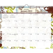 AT-A-GLANCE® 2015 Bali Monthly Wall Calendar, January - December, Design, 15 x 12