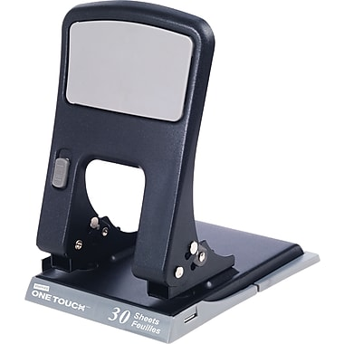 Staples® One-Touch 2-Hole Punch, 30 Sheet Capacity