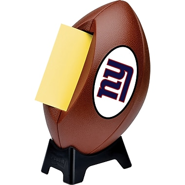 Post-it® NFL Pop-up Notes Dispenser, New York Giants, 3