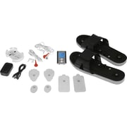 PCH Digital Pulse Massager Shoe Combo Set, Black