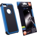 Rugged Case + Shatter Proof Screen Protector for iPhone 5/5s, Assorted colors