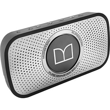 Monster Superstar High Definition Wireless Bluetooth Speaker, Black/Grey