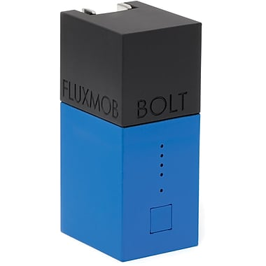 Fluxmob BOLT Battery Backup and Wall Charger, Argon