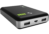 UNU Enerpak Vault Black 11000 mAh Dual Port Battery Pack