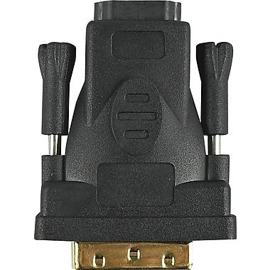 HSO M2C09713 HDMI to DVI 24 + 1 Adapter, Black